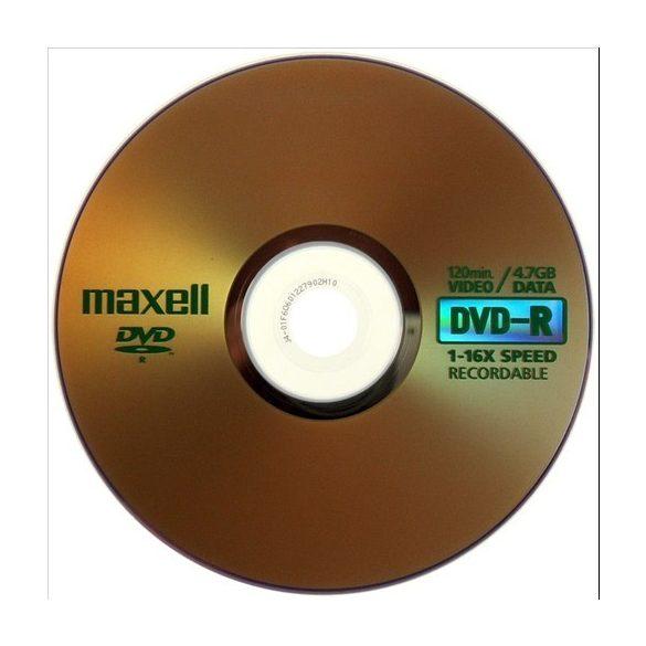 MAXELL DVD-R 4.7GB 1-16x normál tok 1db-os 275517