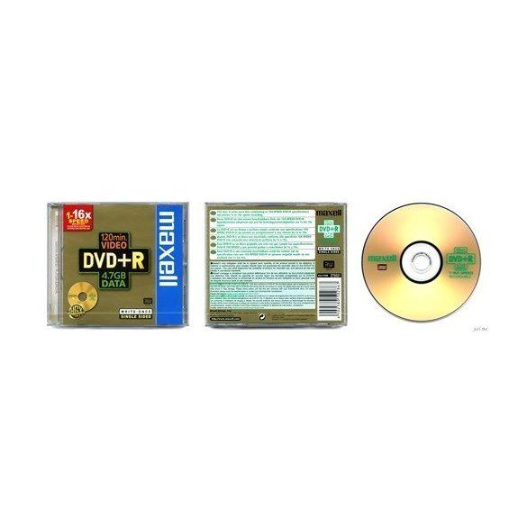 MAXELL DVD+R 4.7GB 1-16x normál tok 1db-os 275521
