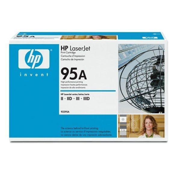 HP 92295A eredeti toner LaserJet II,IID,III,IIID (95A) ~4000 OLDAL