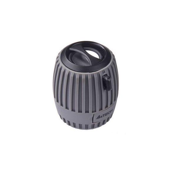 A4Tech Bluetooth BTS-07 3W hordozható hangszóró szürke