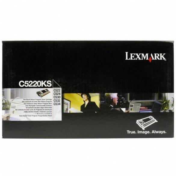 LEXMARK C5220KS toner fekete 4K - utolsó darab