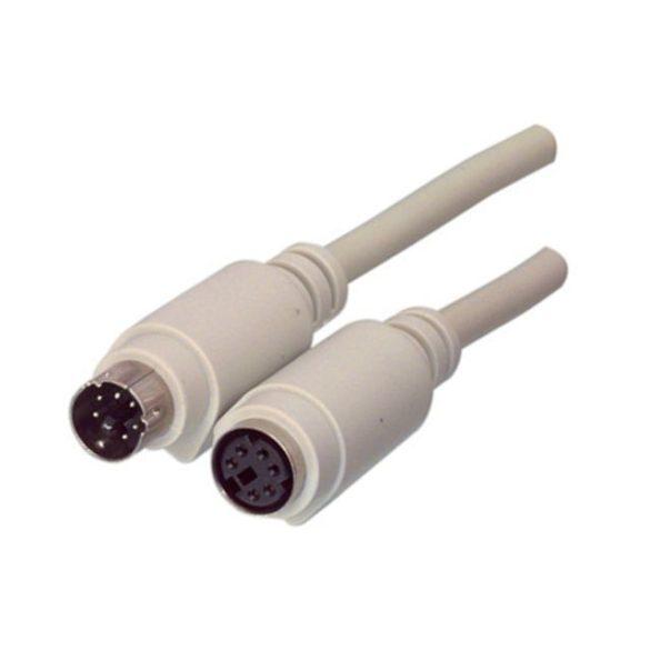 VALUELINE PS/2 hosszabító kábel 1.8 m 6pin M - 6pin F Cable-132