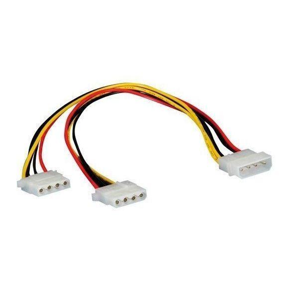 VALUELINE PC molex Y Belső táp elosztó kábel CABLE-253