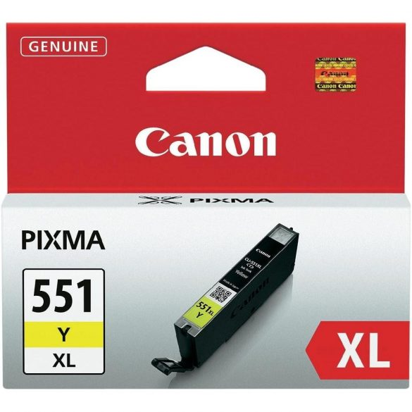 CANON (551XL) yellow patron CLI-551XL Y