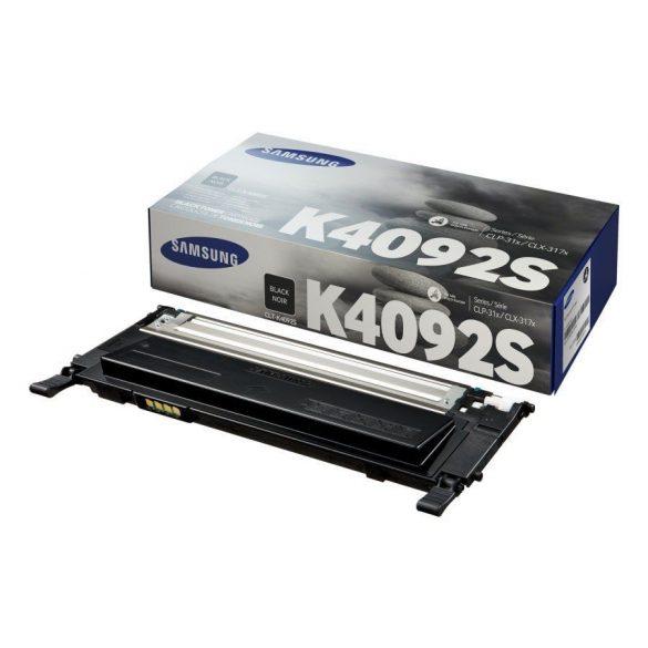 SAMSUNG CLT-K4092S eredeti fekete toner 1500 oldal CLP-310/CLX-3170 RAKTÁRON - UTOLSÓ DARAB!