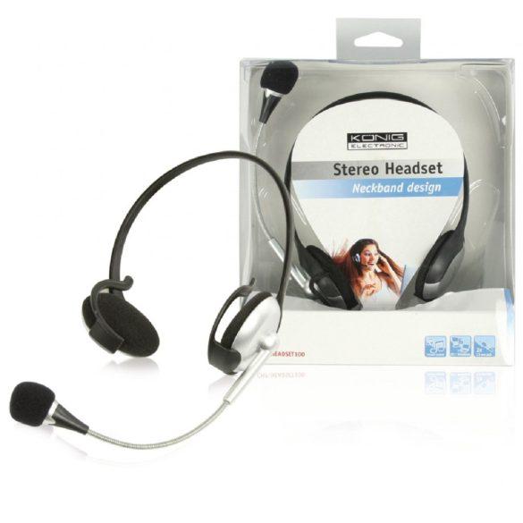 KÖNIG CMP-HEADSET100 Stereo Headset Neckband design