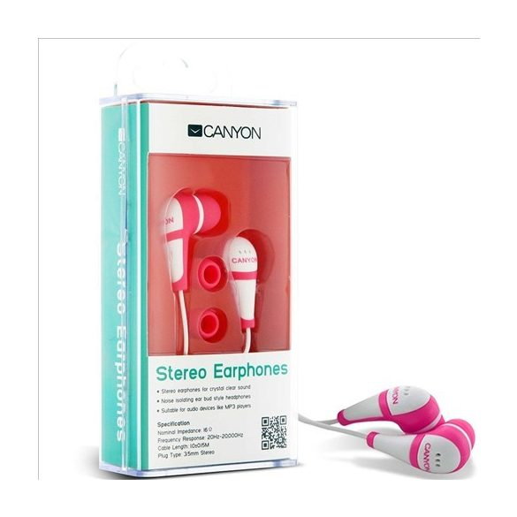 CANYON CNR-EP04N Stereo Earphones