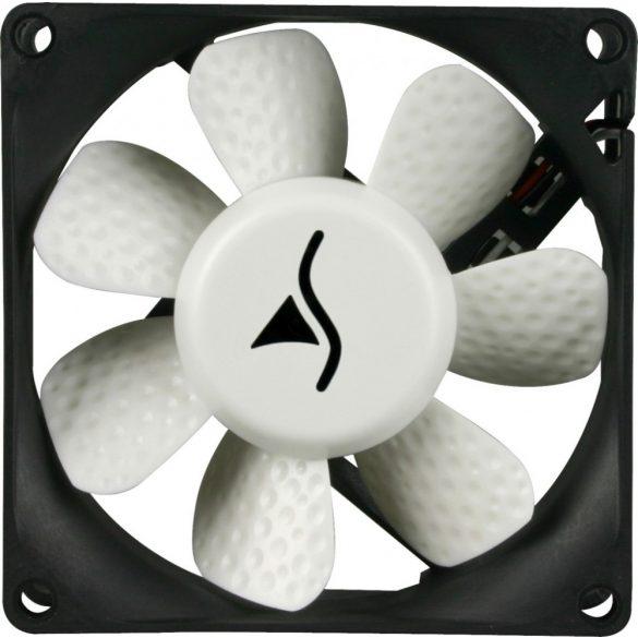 SHARKOON Cooler 12cm - Silent Eagle 1000 (19dB, 62.5 m3/h, 3pin+4pin csatlakozó, házhűtésre)