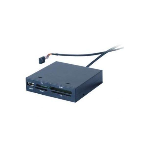 """HKC USB kártyaolvasó 3.5"""" belső fekete"""
