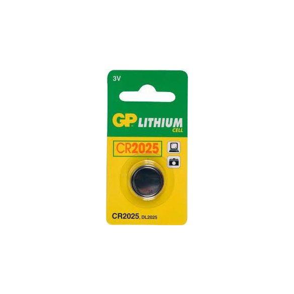 GP CR2025 3V Lithium gombelem