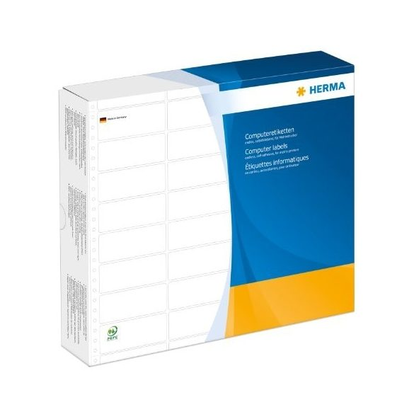 HERMA 8237 Fehér Etikett 106.68x35.7mm 3pá 12000 db/doboz