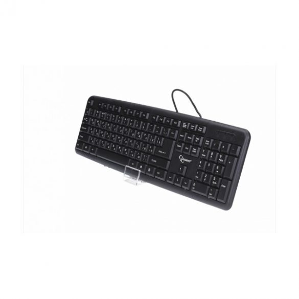 GEMBIRD KB-U-103-RU USB billentyűzet Cirill fekete