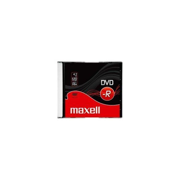 MAXELL DVD-R 4.7GB 16x 1db slim tok