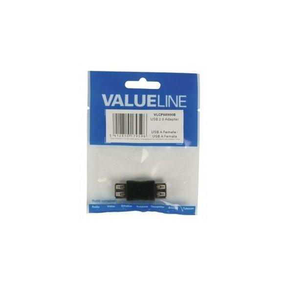 VALUELINE USB 2.0 A aljzat -> USB A aljzat adapter VLCP60900B